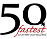50 Fastest-Growing Women-Run Businesses In The World Logo